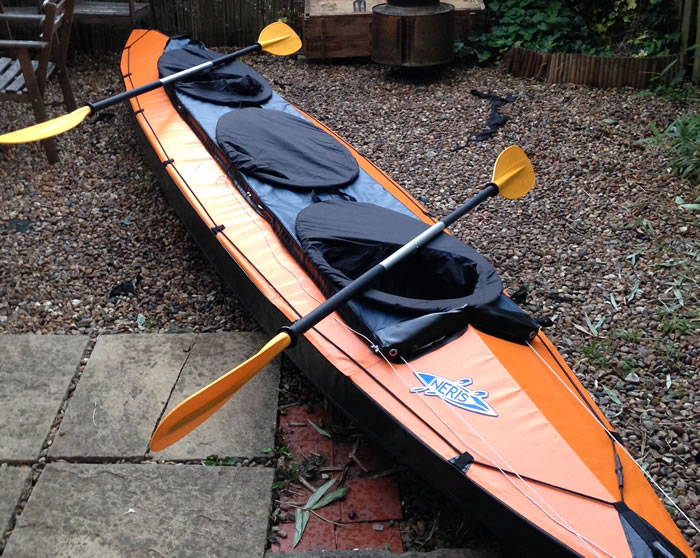 NERIS Alu-2 folding kayak